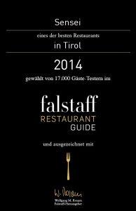 Sensei Sushi Bar | Innsbruck | Tirol | Auszeichnung